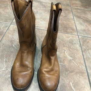 Ariat Women's Brown Leather Boots Sz 8